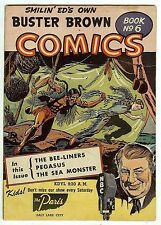 Buster Brown Comics #6 (Radio 1947; fn/vf 7.0) guide value: $55.50 (£37.00)