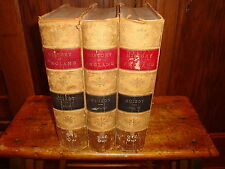 Popular History Of England Guizot Volumes 2, 3 and 4 1876 Famous Artist Drawings