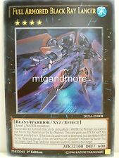 Yu-Gi-Oh - #008 full Armored Black Ray lancer-Dusa-duelist saga-Ultra