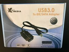 "X-Media XMEDIA UB3235S USB 3.0 to 2.5"" 3.5"" IDE SATA Cable Adapter"