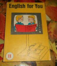DDR + Schulbuch + English for you ++ Teil 2  ++ 1984  ++ Englisch - Unterricht