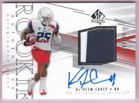 KA'DEEM CAREY RC 2014 SP AUTEHNTIC ROOKIE PATCH AUTO #389/550 RPA AUTOGRAPH