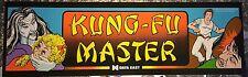 "Kung Fu Master Arcade Marquee 26""x8"""