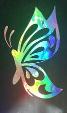 Butterfly Rainbow Holographic Car Vinyl Decal Sticker Window Laptop 10-85