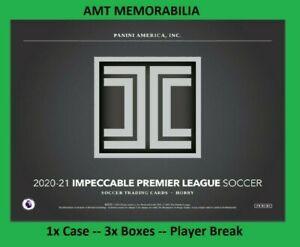 Ashley Barnes Burnley 2020/21 Panini Impeccable 1X CASE 3X BOX BREAK #2