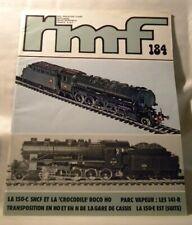 Rail Miniature Flash 184 1978 Septembre RMF La 150-c SNCF et la Crocodile Roco H