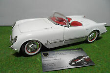 CHEVROLET CORVETTE cabriolet 1953 50éme anniversaire 1/18 ERTL voiture miniature