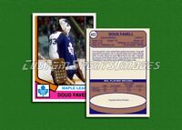 Doug Favell - Toronto Maple Leafs - Custom Hockey Card  - 1973-74