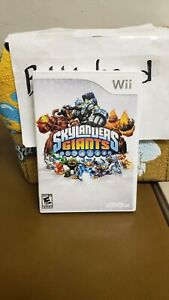 SKYLANDERS GIANTS NINTENDO WII VIDEO GAME >>>>>>IN BOX NO MANUAL