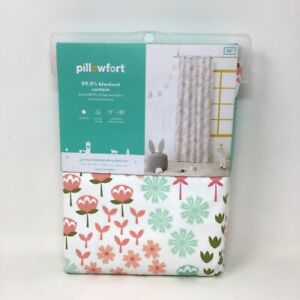 "Pillowfort Blackout Floral Print Curtain Panel Floral 42""x95"" Multicolor"