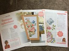 Vintage Chic Birdcage - Butterflies And Peonies cross stitch chart Only (305)