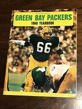 VINTAGE 1968 GREEN BAY PACKERS YEARBOOK NITSCHKE COVER