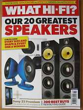What Hi-Fi Sound & Vision March 2016 20 Greatest Speakers Sony Z5 Premium Amazon