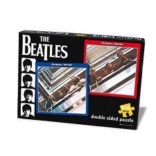 The Beatles rojo y azul de doble cara 1000 Pieza Rompecabezas oficialmente licenciado