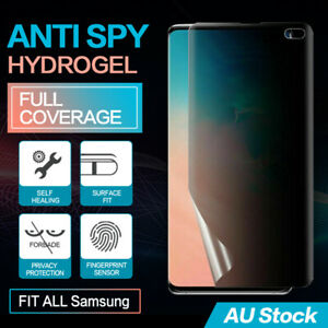 SAMSUNG GALAXY NOTE S20 S10 9 PLUS 5G PRIVACY ANTI SPY HYDROGEL SCREEN PROTECTOR