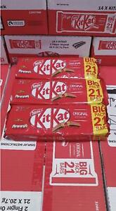 63 x KitKat 2 Fingers Nestle Best Before Dates End March 2021