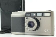 【Near Mint LCD Works】 Ricoh GR1 Sliver Point & Shoot 35mm Film Camera From Japan