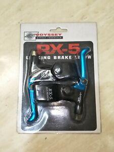 Odyssey RX-5 Locking Brake Lever Street Freestyle old school NIB blue
