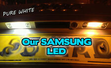 BMW 3 Series E36 E46 E90 COMPACT Number Plate LED Light Bulbs Pair - 3 SMD LED
