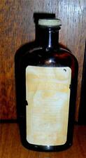 Antique Medicine Bottle Sharp & Dohme's Lithiated Sorghum Antique Label 18% Alch