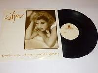 """SILJE - Tell Me Where You're Going (Long Vers) - 1990 UK 3-trk 12"""" vinyl single"""