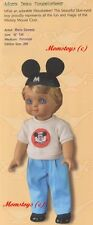 MARIE OSMOND SIGNED ADORA BEAU MOUSEKETEER DOLL