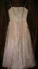 r- WEDDING BRIDESMAID GOWN SZ 13 GORGEOUS FORMAL WEAR PROM PAGEANT GENTLY USED