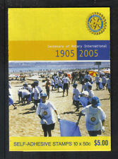 Australia 2005 Rotary International sa bklt-Attractive Topical (2384a) Mnh