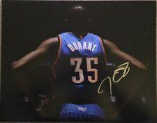 Kevin Durant Oklahoma City Thunder Signed 11x14 NBA Photo