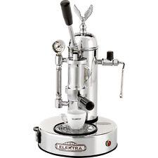 Elektra Micro Casa Leva Chrome Manual Lever Espresso & Cappuccino Machine 110V