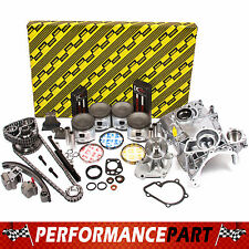 Fits 91-94 Nissan 240SX 2.4 Master Engine Rebuild Kit KA24DE