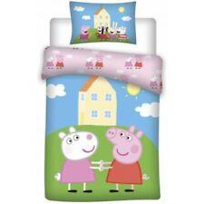 Peppa Pig Suzy - Parure de Lit Bébé - Housse de couette Coton