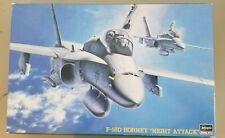 Hasegawa F-18D Hornet Night Attack #7203 1:48 NIB