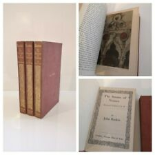 John Ruskin - The Stones Of Venice 1908 3vo complete - Colour Plates Illustrated