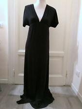 Abito lungo nero MISS SELFRIDGE long black dress UK8 EU36 IT40