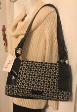 a4305f1a3d Triple Shot Handbag Black White Houndstooth NWT