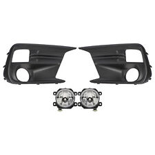 OEM 18-19 Subaru WRX Fog Light Kit Lamps Bezels Switch & Hardware H4510VA040