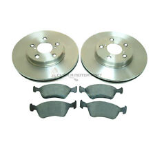 TOYOTA AVENSIS 1.6 1.8 2.0TD 1997-2000 FRONT 2 BRAKE DISCS AND PADS SET NEW