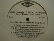 """FUGEES TRIBE CALLED QUEST BUSTA RUMBLE IN THE JUNGLE 12"""" 1996 MELP125 PROMO NM"""