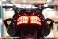 06-15 Yamaha FZ1 SMOKE SEQUENTIAL INTEGRATED SIGNAL LED Tail Light 13 12 11 10