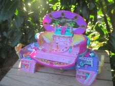 POLLY POCKET mini - Jewel Beauty Case Tanzpalast + LICHT - BLUEBIRD 1995 + FIGUR