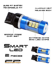 2X **ULTRA BRIGHT** White 7440 T20 LED Tail Reverse Backup Light Bulbs SET PAIR