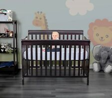 Fizzy 4 in 1 Convertible Baby Crib