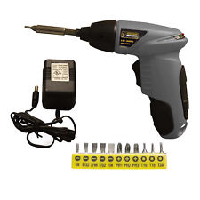 Pro-Series PS07259 4.8 Volt Palm Drill Includes 11 Drill Bits & 3 Hour Batter...