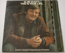 Slim Dusty This Is Your Life LP Oz Country 76 Columbia Vinyl Record