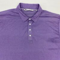 Travis Matthew Polo Shirt Men's 2XL XXL Short Sleeve Purple Pima Cotton Blend