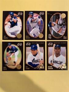 1996 Pinnacle Summit Houston Astros Team Set 6 Cards