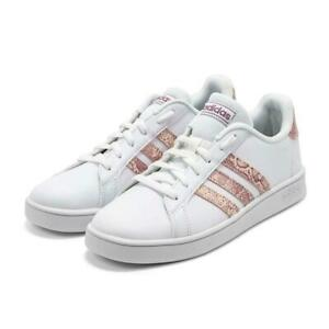 NEW adidas Grand Court Tennis Sneakers Girls Athletic Shoes Sneakers
