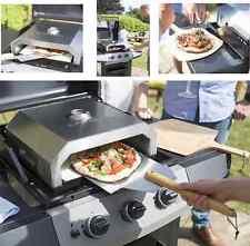 BUSCHBECK Firebox BBQ Pizza - Ofen - Funktioniert auf Gas oder Holzkohle BBQ