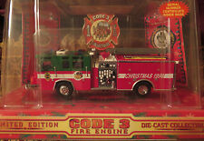Code 3 CHRISTMAS 1998 Pierce Quantum Pumper Edition # 1 FREE SHIPPING in USA